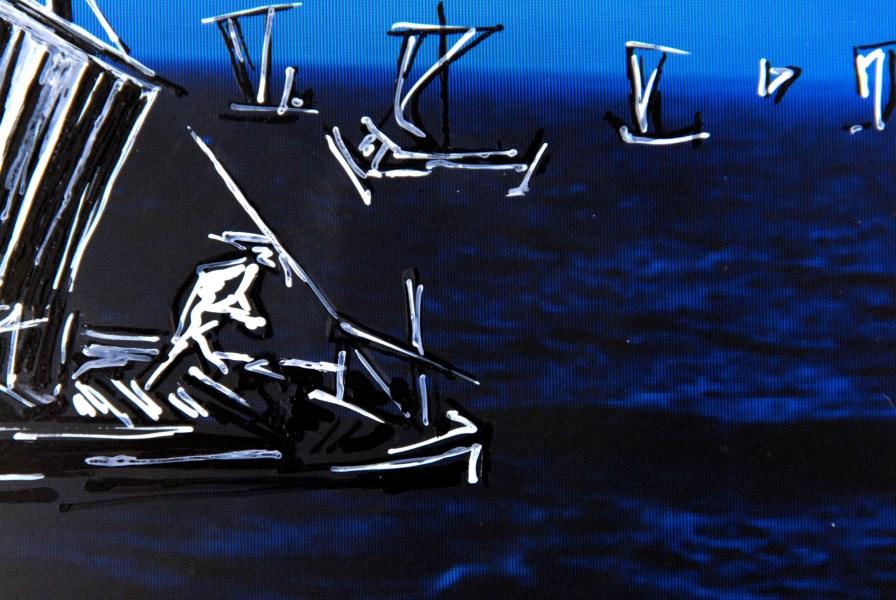 At Sea (detail)