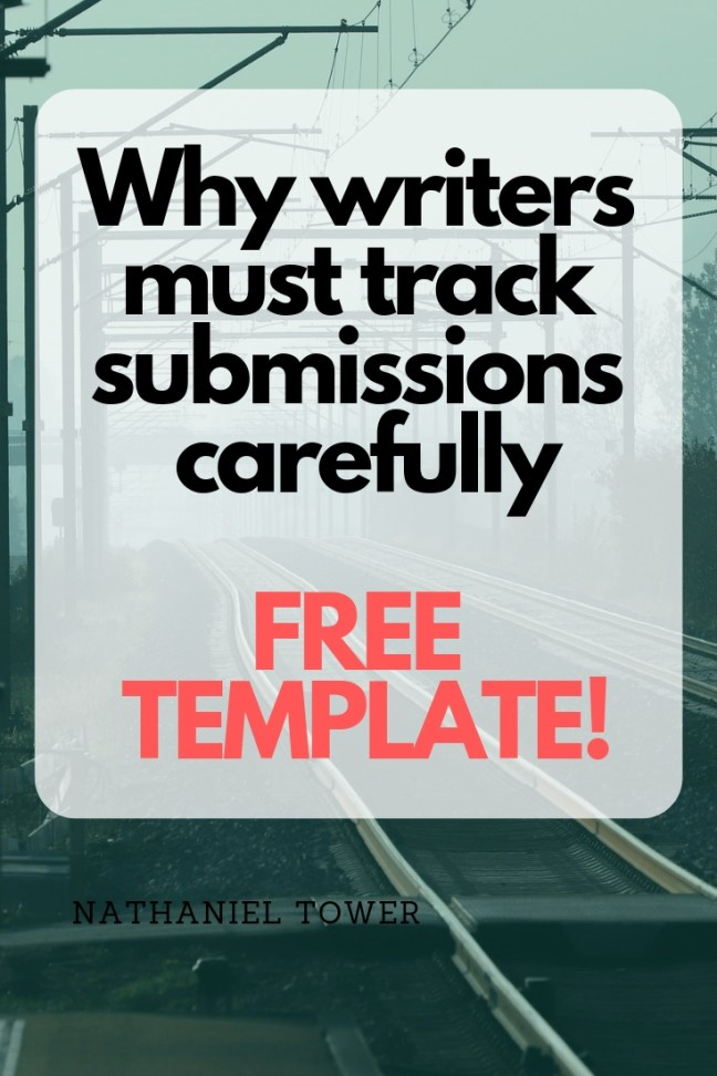 Why writers must track submissions - FREE template included