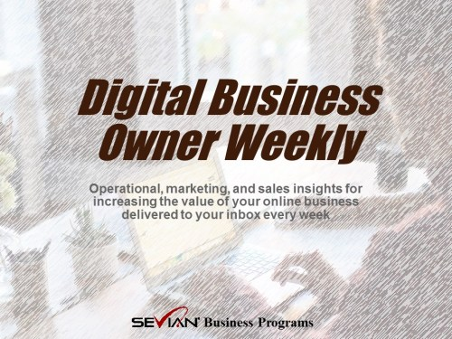 Digital Business Owner Weekly | Nathan Ives | Newsletter