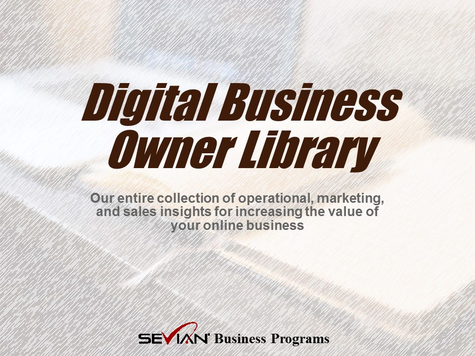 Digital Business Owner Library | Nathan Ives