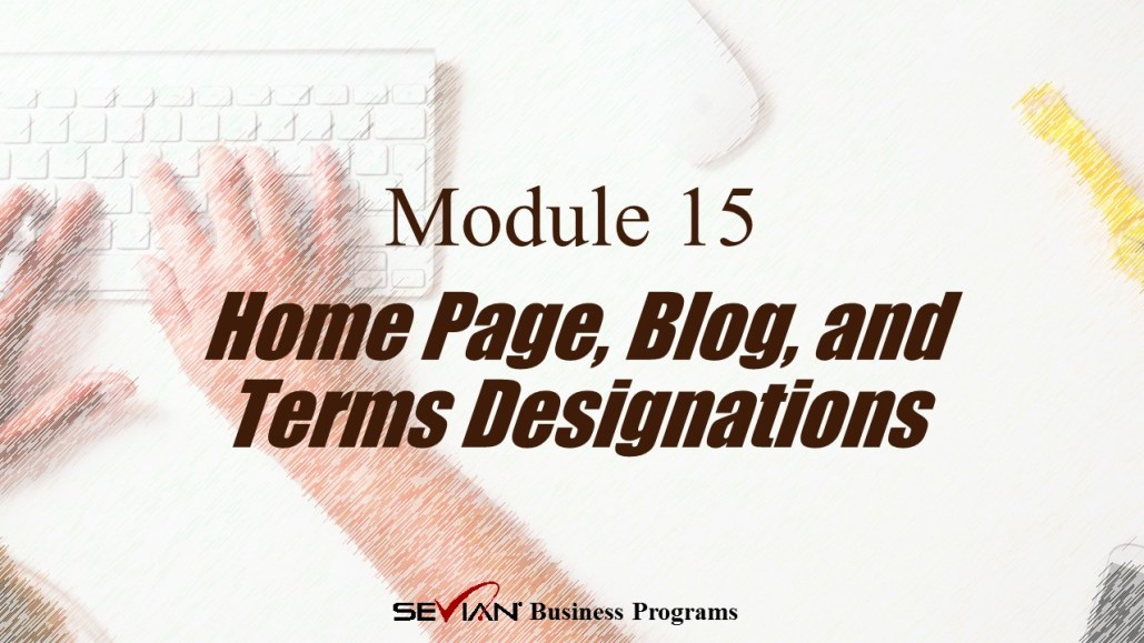 Home Page, Blog, and Terms Designations, Digital Products Platform, Nathan Ives