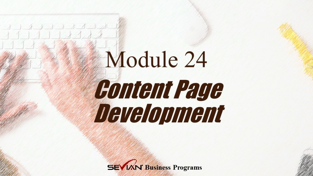 Content Page Development, Digital Products Platform, Nathan Ives