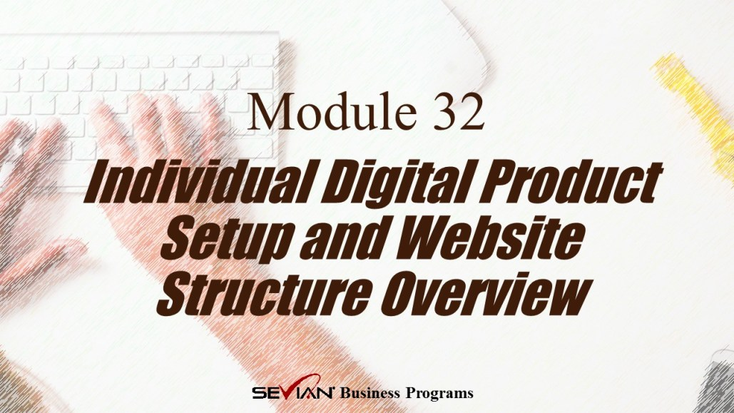 Individual Digital Product Setup and Website Structure Overview, Digital Products Platform, Nathan Ives