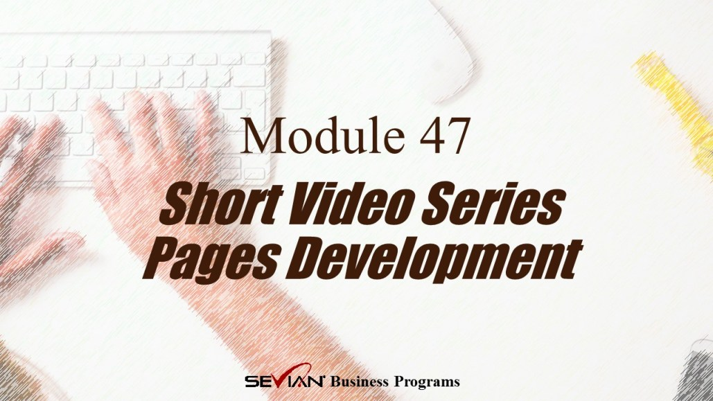 Short Video Series Pages Development, Digital Products Platform, Nathan Ives