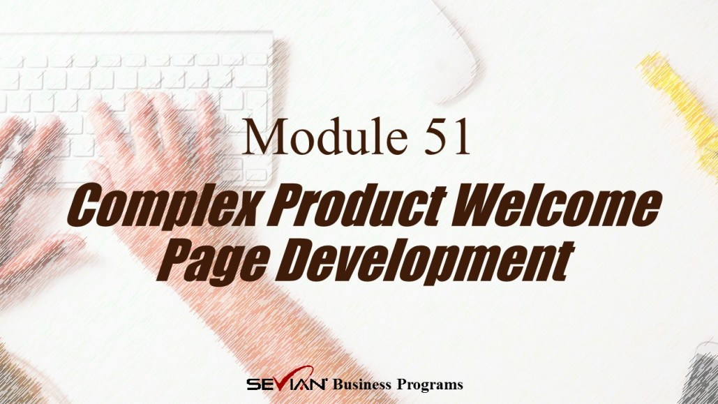 Complex Product Welcome Page Development, Digital Products Platform, Nathan Ives
