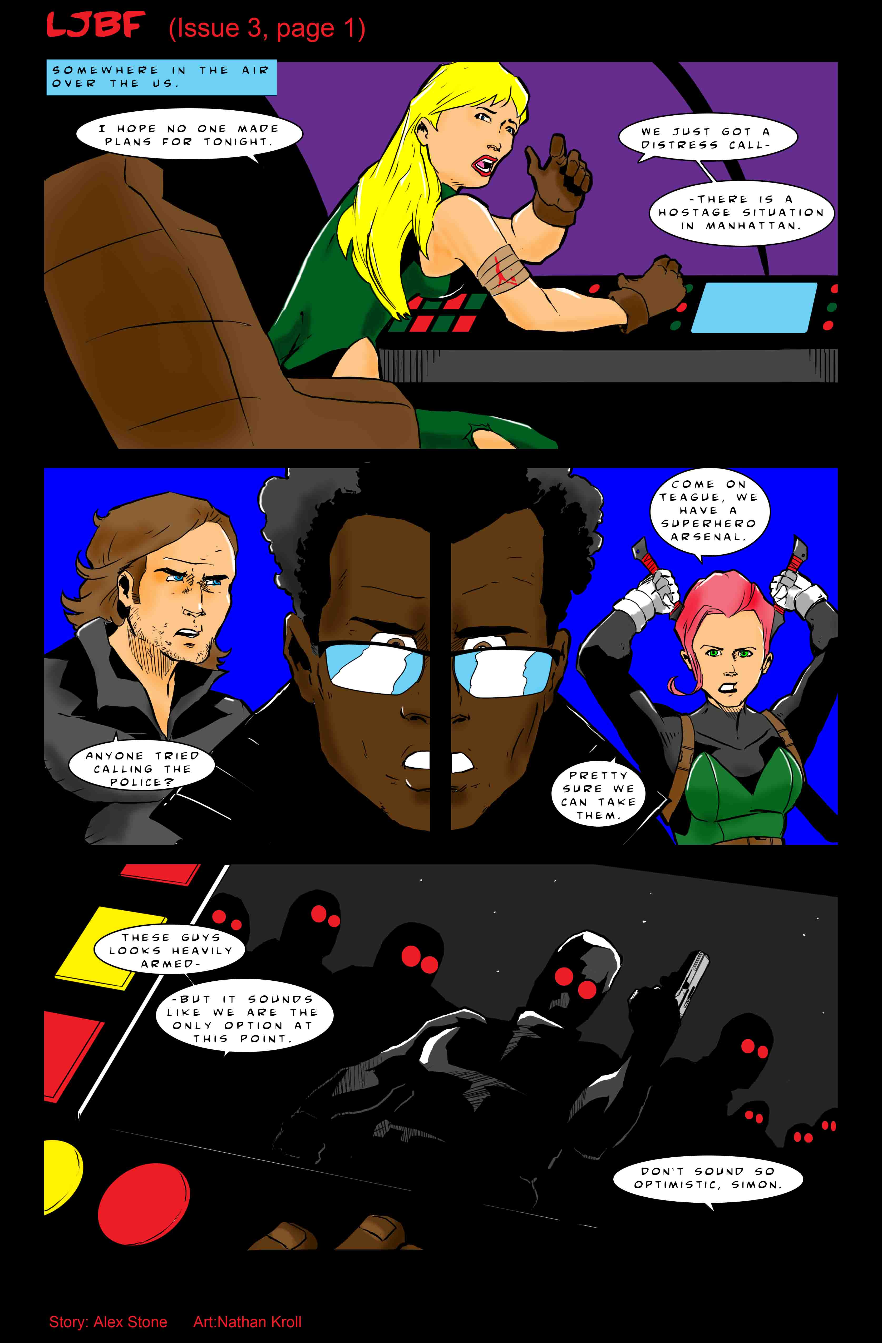 Let's Just Be Foes (issue 3, page 1)