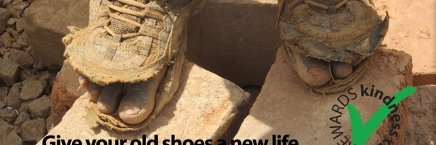 What if…  your old running shoes could change lives?