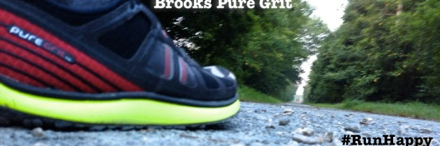 My first experiences running in Brooks Pure Grit : Shoe Review