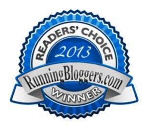 Reader's Choice Running Bloggers Winner