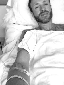 Hospitalized after Ultra Marathon