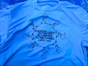 Tech Tee - Hinson Lake 24 Hour Run 2013