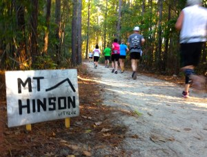 Mt Hinson at Hinson Lake 24 hour race