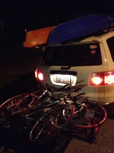 Bikes and Kayaks Loaded
