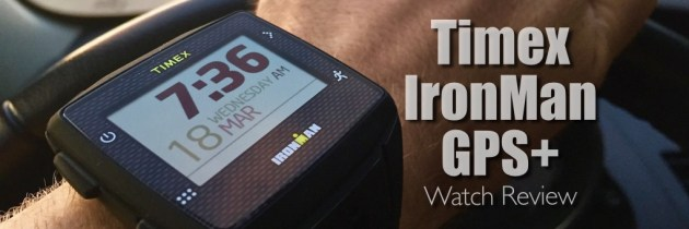 Timex IronMan GPS+ watch review