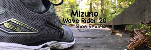 Mizuno Wave Rider 20 Shoe Review