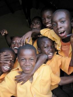 Schoolkids, Ashanti region, Ghana