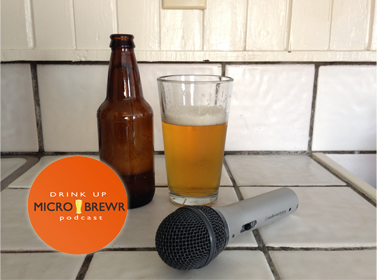 Banner for I'm hosting a podcast about breweries. MicroBrewr http://microbrewr.com