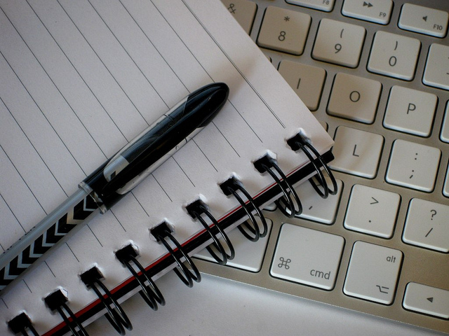 Writing Tools by Pete O'Shea on flickr