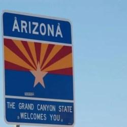 Arizona the Grand Canyon State Welcomes You