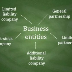 Business entities diagram