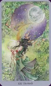 """Tarot Card """"The World"""""""