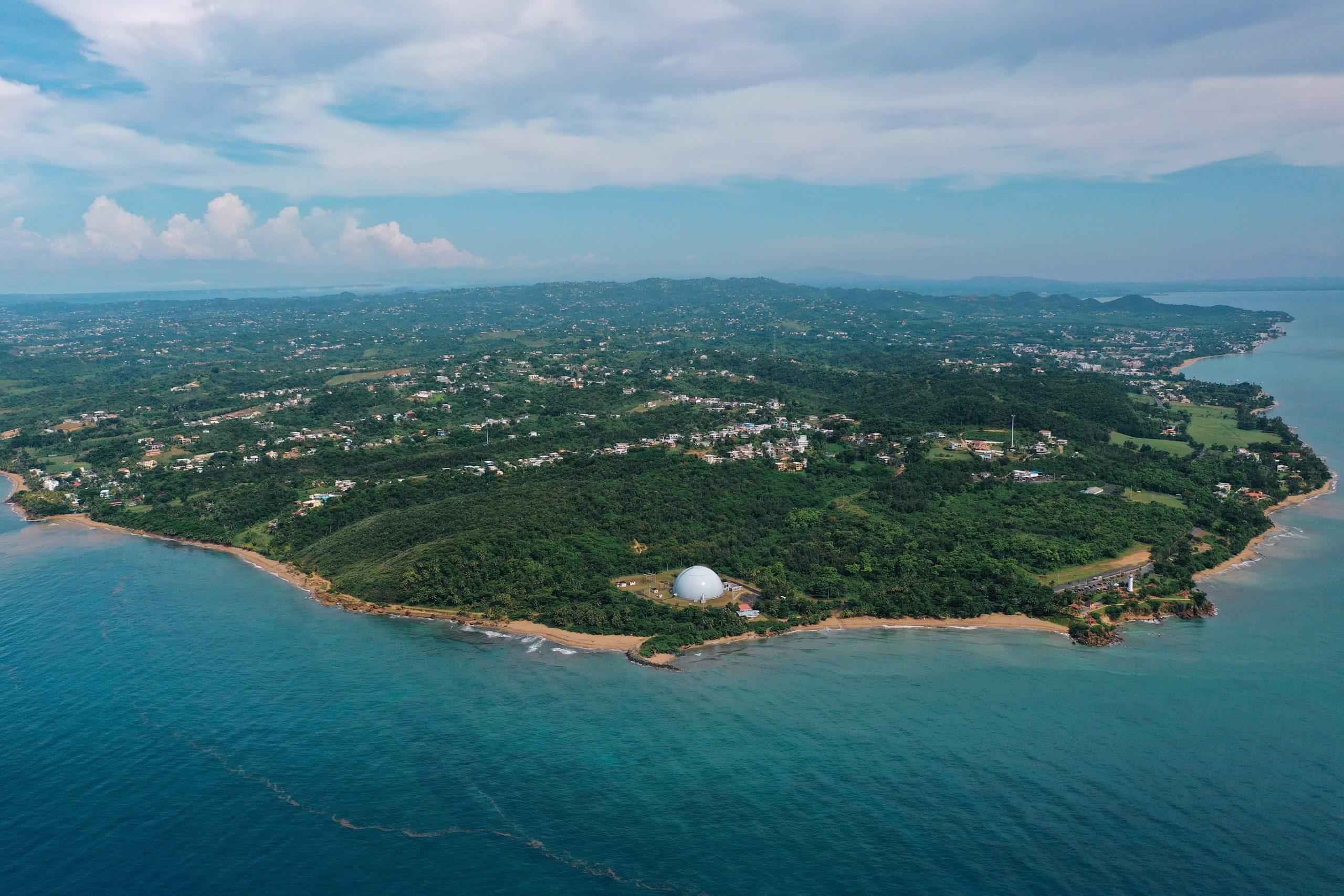 Drone View, Domes, Beach, Rincón, Puerto Rico