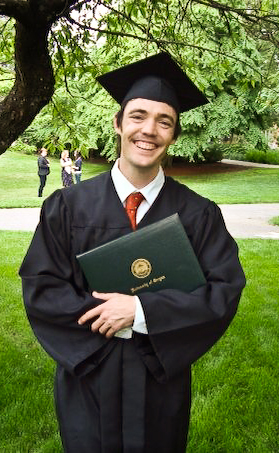 Nathen, Graduated, Grinning