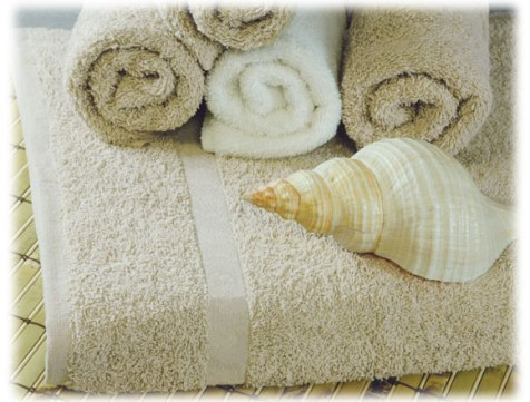 Williams Bay Beige Towels