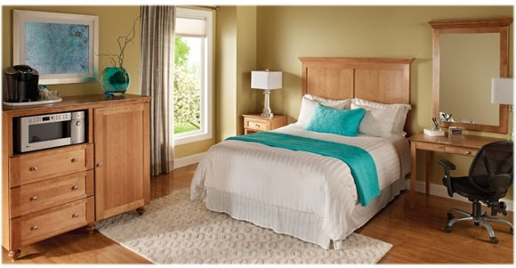 Washburn guest room furniture collection