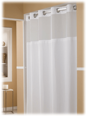 hotel shower curtains