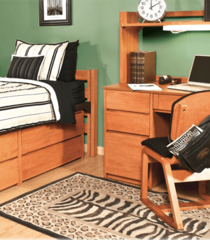 university dorm furniture twin bed collection
