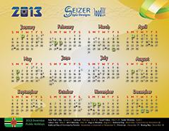 2013 Calendar Loud