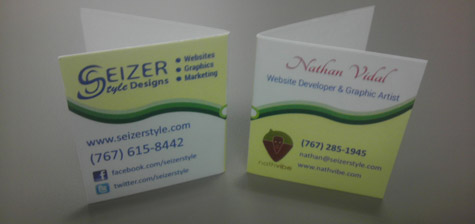 Nathan Vidal Business Card