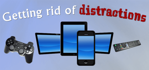 Getting rid of distractions