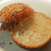 Buns sans lactose pour burger maison