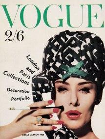 Vogue, marzo de 1960