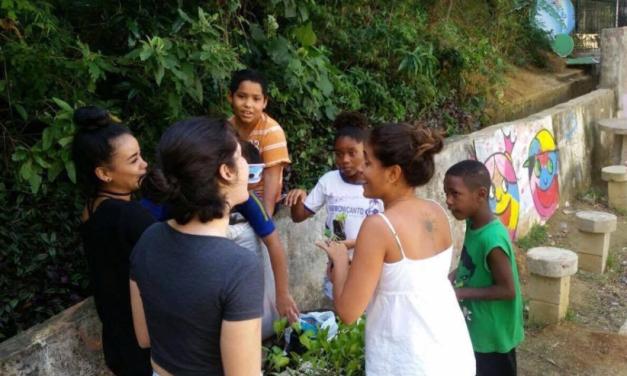 Alunos da Universidade Veiga de Almeida elaboram projeto social para o Viva Rio