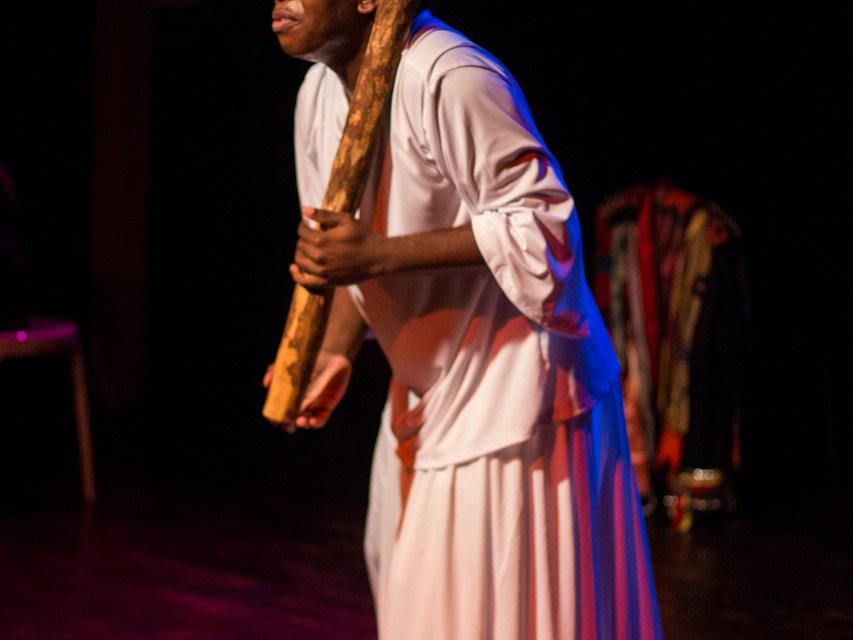 Teatro em homenagem ao Dia da Consciência Negra na Tijuca