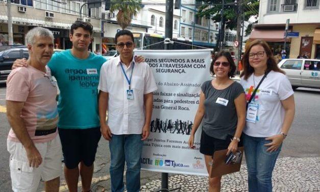 Mobilização promovida pelo NaTijuca, ACIT e Caminha Rio é aprovada pela população