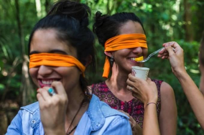 Piquenique sensorial é atração inusitada na Floresta da Tijuca