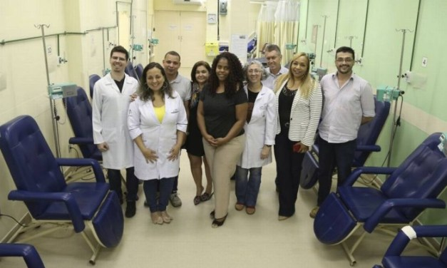 Espaço de oncologia do Hospital do Andaraí passa por reformas