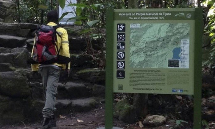 Mais de 80 novas placas foram instaladas este ano na Floresta da Tijuca
