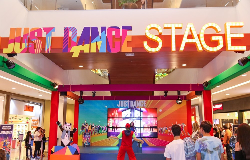 Just Dance chega ao Shopping Tijuca