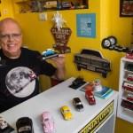 Loja na Tijuca atrai colecionadores de carros em miniatura