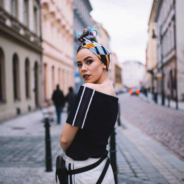 lindex head scarf outfit prague-6