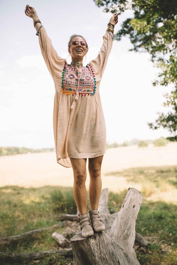 glamorous boho hippie dress natinstablog