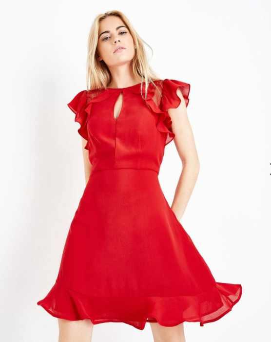 NEW-LOOK-RUFFLE-DRESS