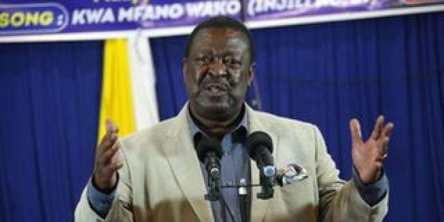 ANC party leader Musalia Mudavadi