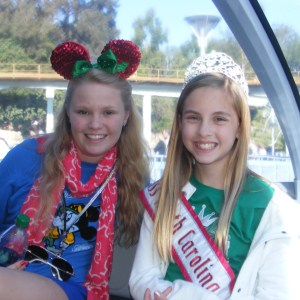 Hannah Gold NC Pre-Teen with her best friend - her older sister!