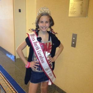 Hannah Gold NC Pre-Teen in her favorite Patriotic Outfit
